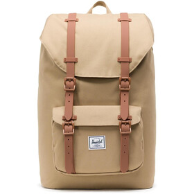 Herschel Little America Mid-Volume Rygsæk 17L, kelp/saddle brown